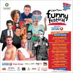 OFFICIAL POSTER: 2016 Jive Cape Town Funny Festival, delivered by Turkish Airlines